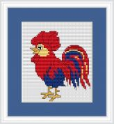 Luca-S Counted Cross Stitch Kit Rooster