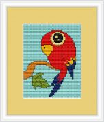 Luca-S Counted Cross Stitch Kit Parrot