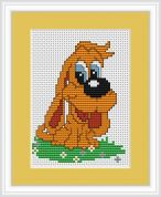 Luca-S Counted Cross Stitch Kit Hound
