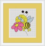 Luca-S Counted Cross Stitch Kit Bee
