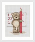 Luca-S Counted Cross Stitch Kit Mathematician Bruno