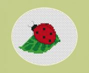 Luca-S Counted Cross Stitch Kit Lady Bird