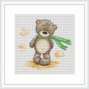 Luca-S Counted Cross Stitch Kit Windy Day for Bruno