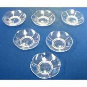 DIY Wedding Plastic Favour Saucers  Clear