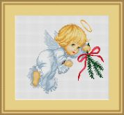 Luca-S Counted Cross Stitch Kit Angel