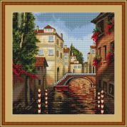 Luca-S Counted Cross Stitch Kit Venice