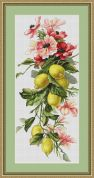 Luca-S Counted Cross Stitch Kit Lemons