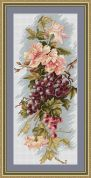 Luca-S Counted Cross Stitch Kit Grapes