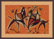 Luca-S Counted Cross Stitch Kit Abstract 4