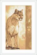 Luca-S Counted Cross Stitch Kit Panther 2
