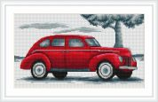 Luca-S Counted Cross Stitch Kit Car