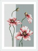 Luca-S Counted Cross Stitch Kit Poppies 4