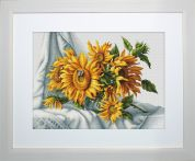 Luca-S Counted Cross Stitch Kit Sunflowers