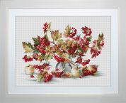 Luca-S Counted Cross Stitch Kit Guelder Rose