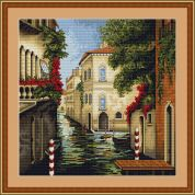 Luca-S Counted Cross Stitch Kit Venice in Colours