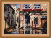Luca-S Counted Cross Stitch Kit Morning in Venice