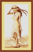Luca-S Counted Cross Stitch Kit Walk 1