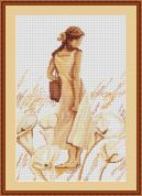 Luca-S Counted Cross Stitch Kit Impression 1