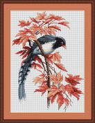 Luca-S Counted Cross Stitch Kit Bird