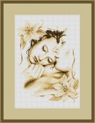 Luca-S Counted Cross Stitch Kit Couple in Love
