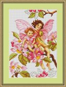 Luca-S Counted Cross Stitch Kit Blossom Fairy
