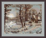 Luca-S Counted Cross Stitch Kit Winter Landscape I