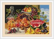 Luca-S Counted Cross Stitch Kit Golden Autumn