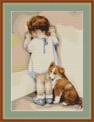 Luca-S Counted Cross Stitch Kit First Tantrum
