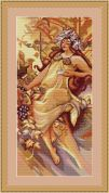 Luca-S Counted Cross Stitch Kit Autumn