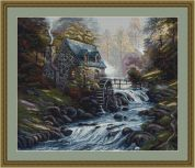 Luca-S Counted Cross Stitch Kit Mill Stream