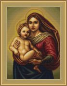 Luca-S Counted Cross Stitch Kit Sistine Madonna