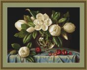 Luca-S Counted Cross Stitch Kit Magnolia