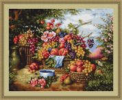 Luca-S Counted Cross Stitch Kit Still Life in Nature