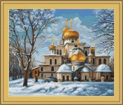 Luca-S Counted Cross Stitch Kit Church