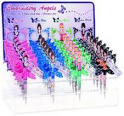 Angel Shape Embroidery Scissors  Assorted Colours