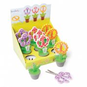 Klasse Flower Pot Novelty Craft Scissors