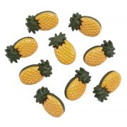 Impex Pineapples Novelty Buttons