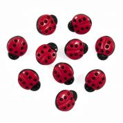 Impex Ladybirds Novelty Buttons
