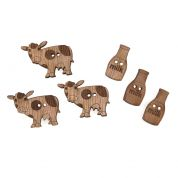 Impex Farm Wooden Buttons