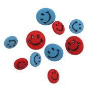 Impex Smiley Faces Novelty Buttons