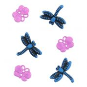 Impex Bugs Novelty Buttons