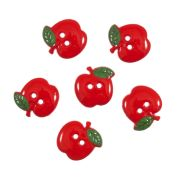 Impex Apples Novelty Buttons