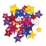Impex Bright Stars Novelty Buttons