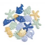 Impex Under The Sea Novelty Buttons