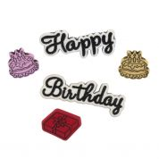 Impex Birthday Novelty Buttons