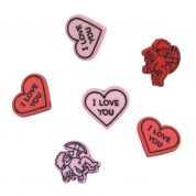 Impex Love Novelty Buttons