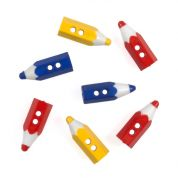 Impex Pencils Novelty Buttons