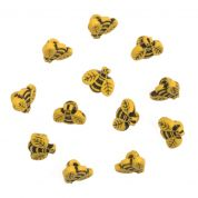 Impex Bees Novelty Buttons