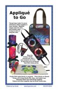 By Annie Sewing Pattern Applique to Go Case