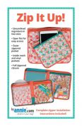 By Annie Sewing Pattern Zip It Up Organiser